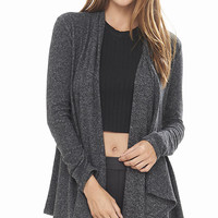 Charcoal One Eleven Draped Front Cover-up from EXPRESS
