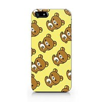 Cute Bear Pattern Plastic Phone Case for Iphone 5 5s ^_^ Yurishop