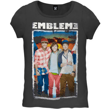 Emblem3 - Sunset Group Photo Girls Youth T-Shirt