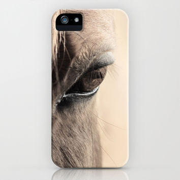 horses eye iPhone & iPod Case by Jana Behr