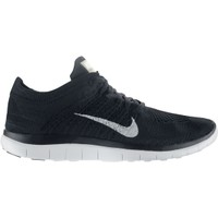 Nike Women's Free 4.0 Flyknit Running Shoe - Black/White | DICK'S Sporting Goods