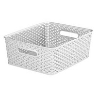 Y Weave Small Storage Bin - White - Room Essentials™ : Target