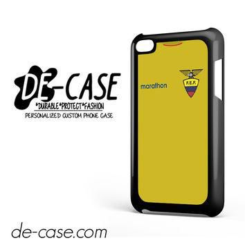 Ecuador Soccer Jersey For Ipod 4 Ipod Touch 4 Case Phone Case Gift Present YO
