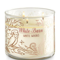 WHITE WOODS3-Wick Candle