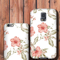 Beautiful Lily iPhone 6 plus Case Floral iPhone 5C Case, Floral iPhone 5S Case, Floral iPhone 6 Case, Samsung Galaxy case white classy chic