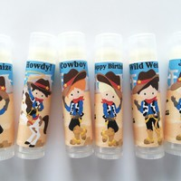 Cowboy Custom Lip Balm – Free Customization