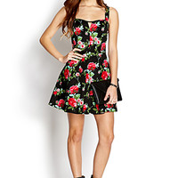 Darling Rose A-Line Dress