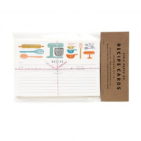 Baker's Kitchen Recipe Cards | Package of 12 Illustrated Recipe Cards | RIFLE PAPER Co. | Made in USA
