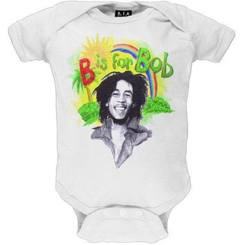 MDIGON Bob Marley - Rainbow Baby One Piece