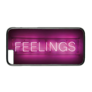Feelings Neon Sign Case