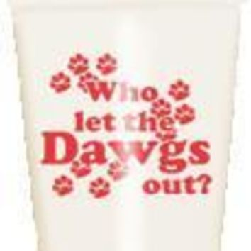 UGA Dawgs Out Stadium Cups