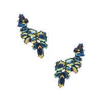 Double Navette Earcuff - Blue
