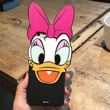 Hot Deal Iphone 6/6s Stylish Cute Hot Sale On Sale Korean Couple Iphone Cartoons Disney Apple Matte Phone Case [8069830407]