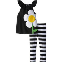 Mud Pie-Flower Tunic & Legging Set