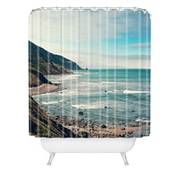 Catherine McDonald California Pacific Coast Highway Shower Curtain