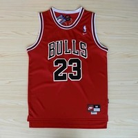 NBA Chicago Bulls #23 Michael Jordan Bulls Swingman Jersey