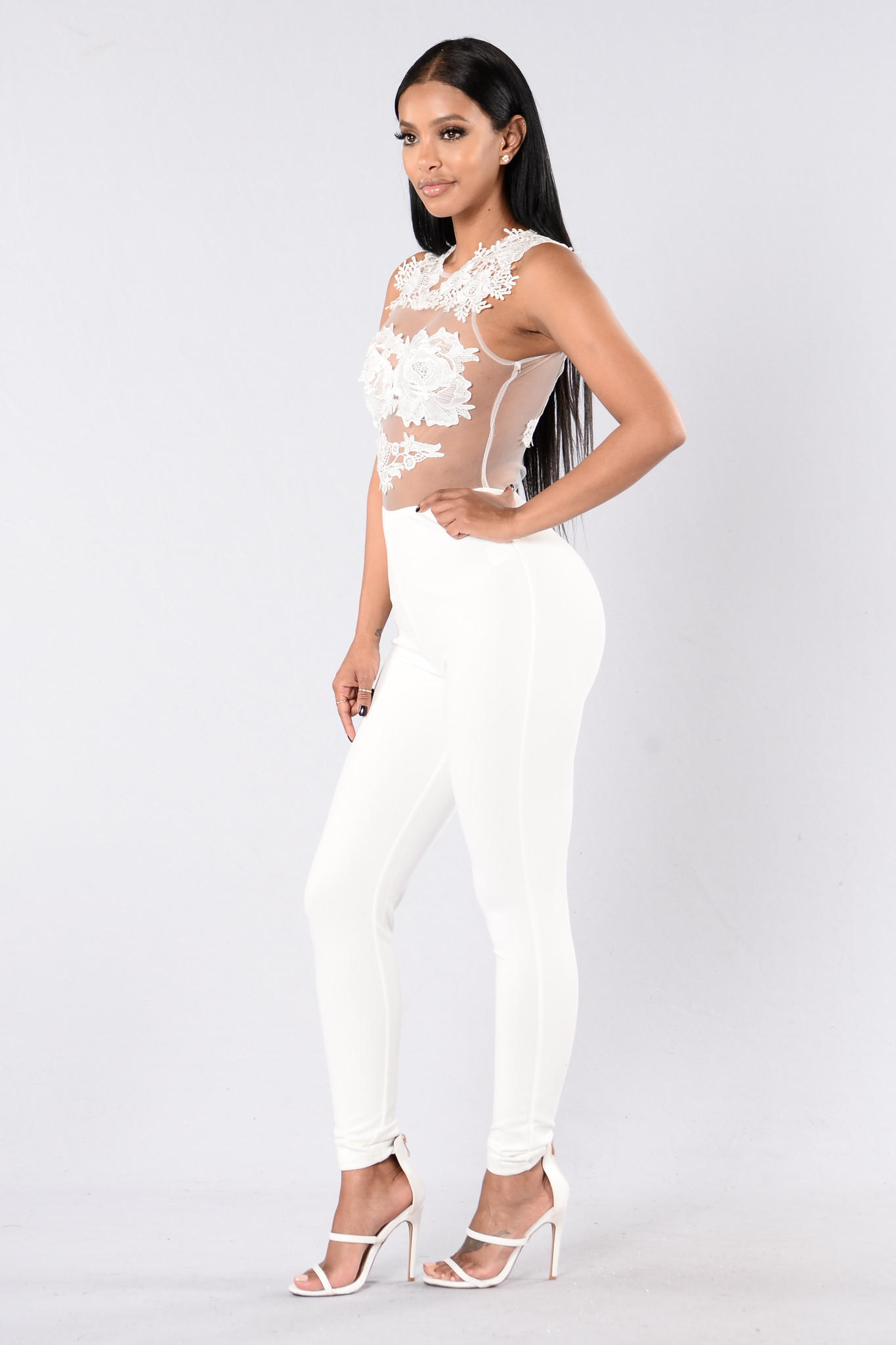 eb22477b775 Sweet Revenge Jumpsuit - White from Fashion Nova