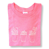 Art Cups Short Sleeve Tee