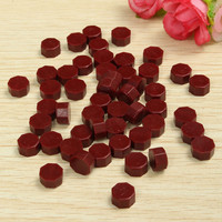 50pcs/set Red Vintage Sealing Wax Tablet Pill Beads Granule Grain Melting for Stamps Envelope Invitation Wax Seal DIY Decor