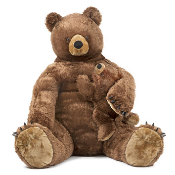 Melissa & Doug - Brown Bear and Cub - Plush