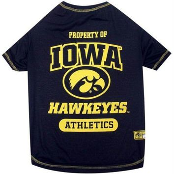 DCCKSX5 Iowa Hawkeyes Pet Tee Shirt