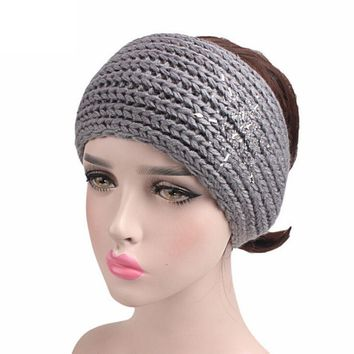 Knitted Headband Ear Warmer in 5 Colors