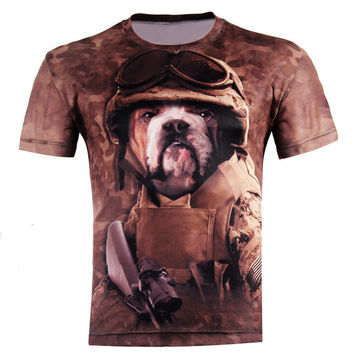 Hot selling New fashion Men's 3D apple printing t shirt summer short sleeve t shirts tops, M-4XL,plus size free shipping