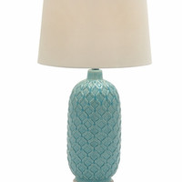 Benzara Excellent Ceramic Table Lamp