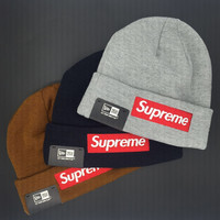 supreme knit hat