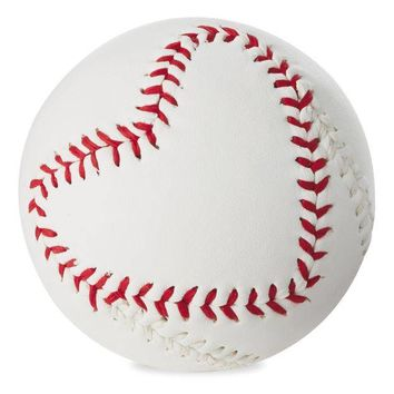 """MVP of My Heart"" Baseball Gift Ball"