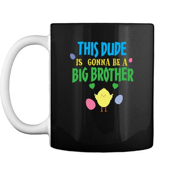 Big Brother Pregnancy Reveal T-Shirt Easter Themed Gift Mug