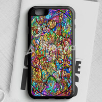 All Disney Heroes Stained Glass Iphone Case iPhone 6 Plus | 6S Plus Case | armeyla.com