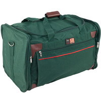 "Forest Green 4-Pocket 24"" Duffle Bag"