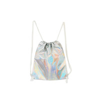 HOLOGRAPHIC BEACH BACKPACK
