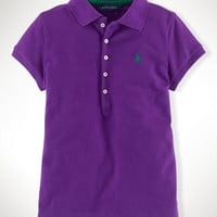 Cotton Short-Sleeved Polo