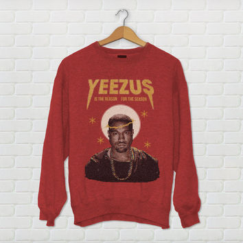 "Kanye West ""Yeezus"" Ugly Christmas Sweater"