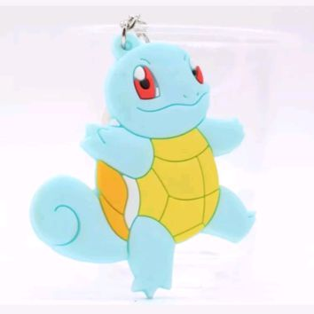 Brand New Video Game Pokemon Squirtle Keychain