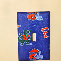 Flordia Gators Light Switch Cover FREE by AquaXpressions on Etsy
