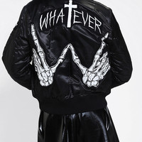 UNIF X UO MA-1 Whatever Bomber Jacket