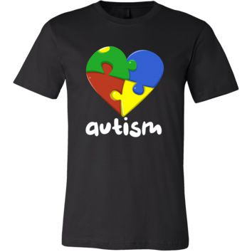 Love Heart Autism Understand and Accept T-shirt