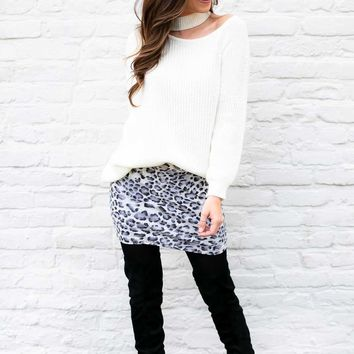 Looking Good Animal Print Skirt