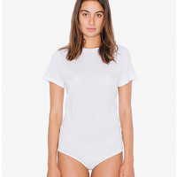 Brushed Jersey T-Shirt Bodysuit | American Apparel