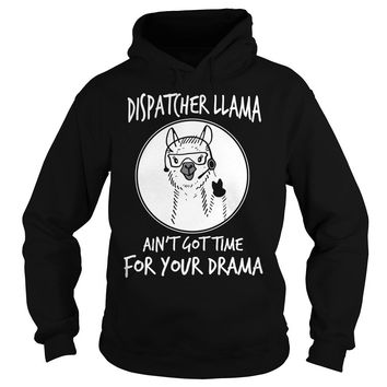 Dental assistant llama ain't got time for your drama Hoodie