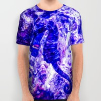 Find the Seahorse All Over Print Shirt by Gwendalyn Abrams