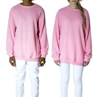 Must Have Oversized Pink Knitted Sweater
