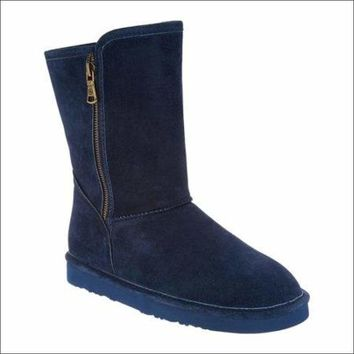Lamo Suede Boots, Water and Stain Resistant - Juniper