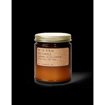 P.F. CANDLE CO. STANDARD SOY CANDLE- NO.029: PINON