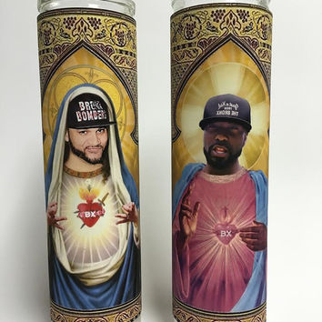 The Kid Mero and Desus Nice Prayer Devotional Candle Pack