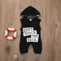 Don't Touch The Hair Baby Boy Outfit