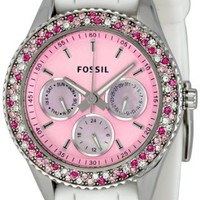 Fossil Women's ES2895 Stella Pink Dial Watch